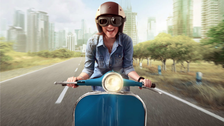 scooter sharing bike sharing