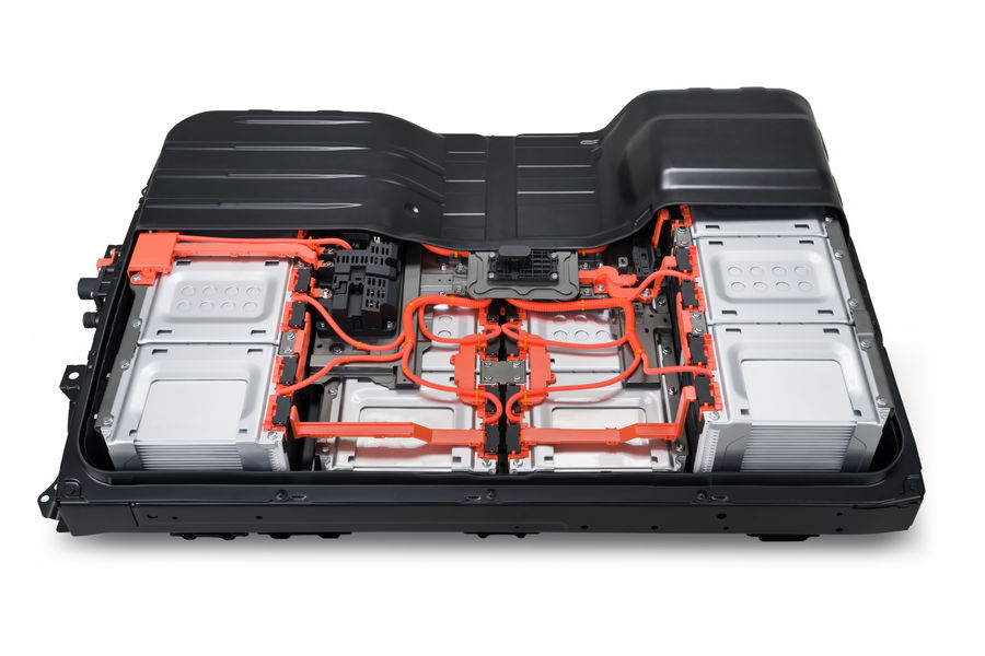 auto elettrica batterie