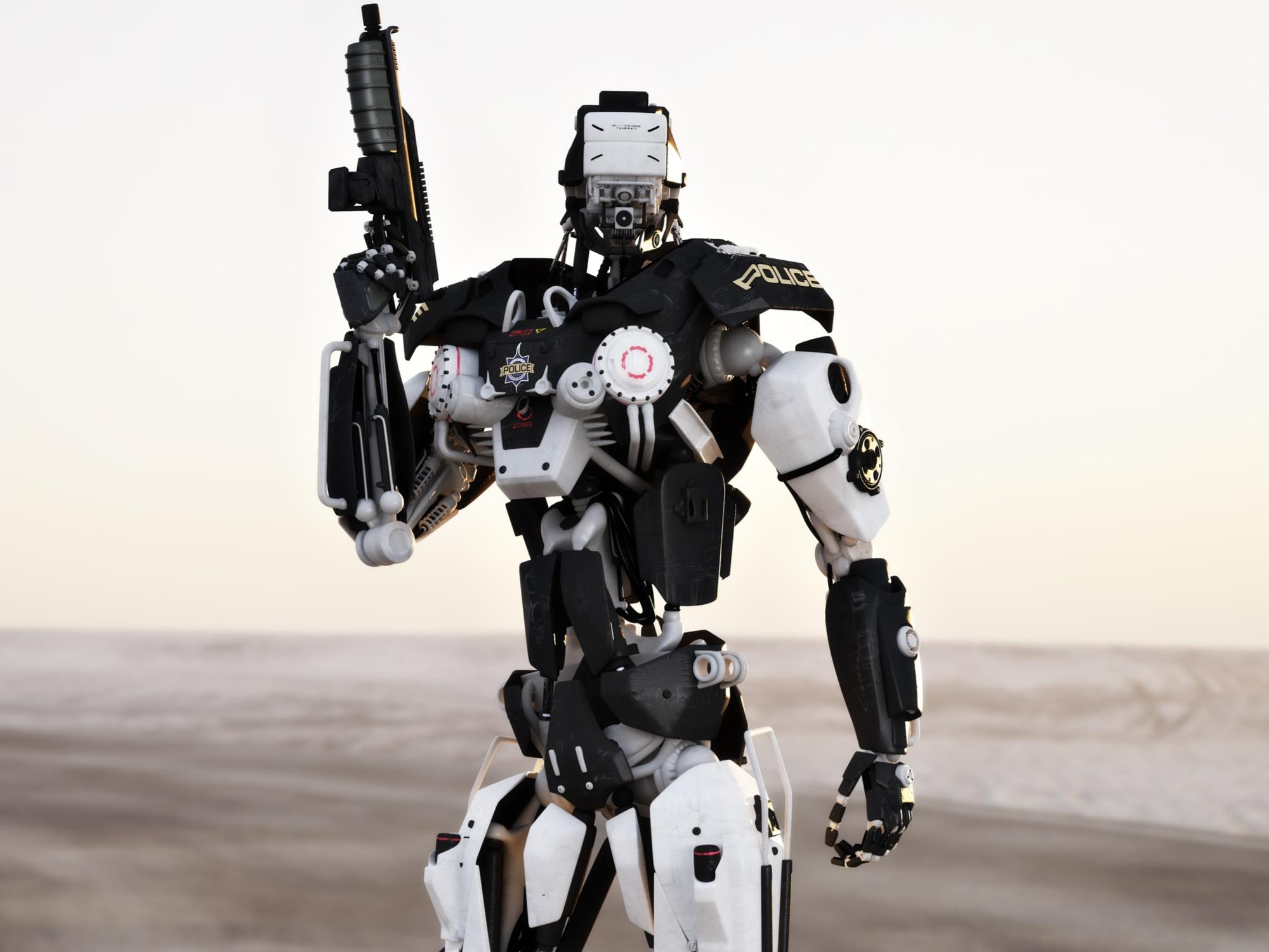 Risultati immagini per armi robot